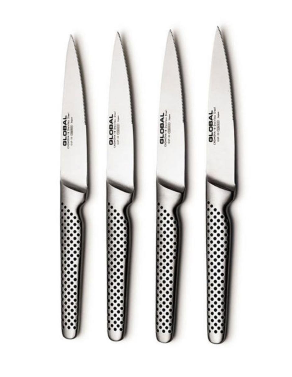 Set de Cuchillos para Carne Global Classic