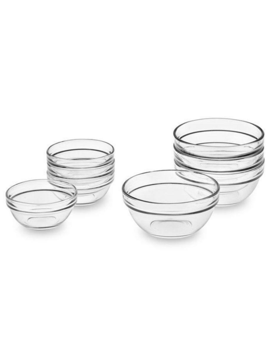 Set de 8 Bowls Essentials