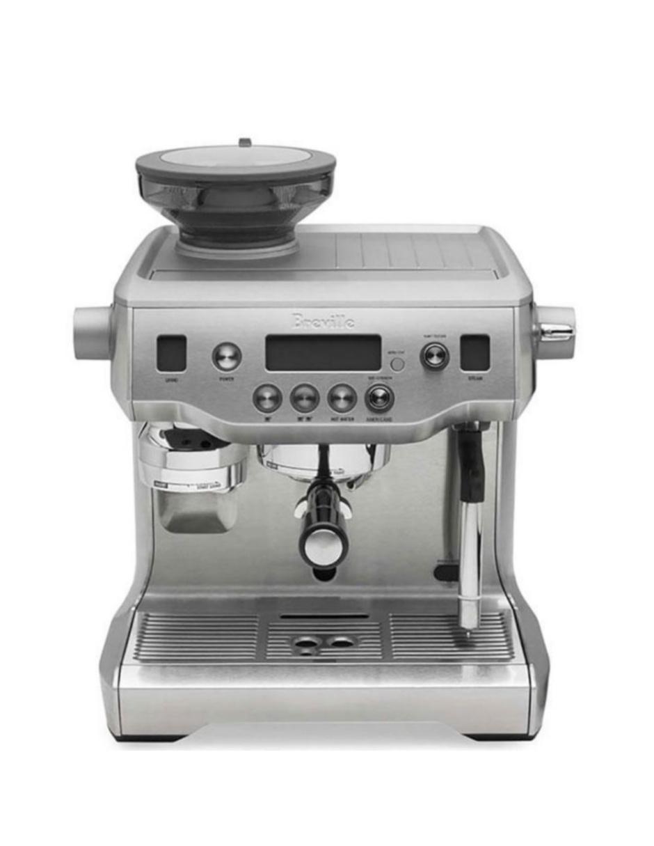 Cafetera para Espresso Breville de 2.50 Litros