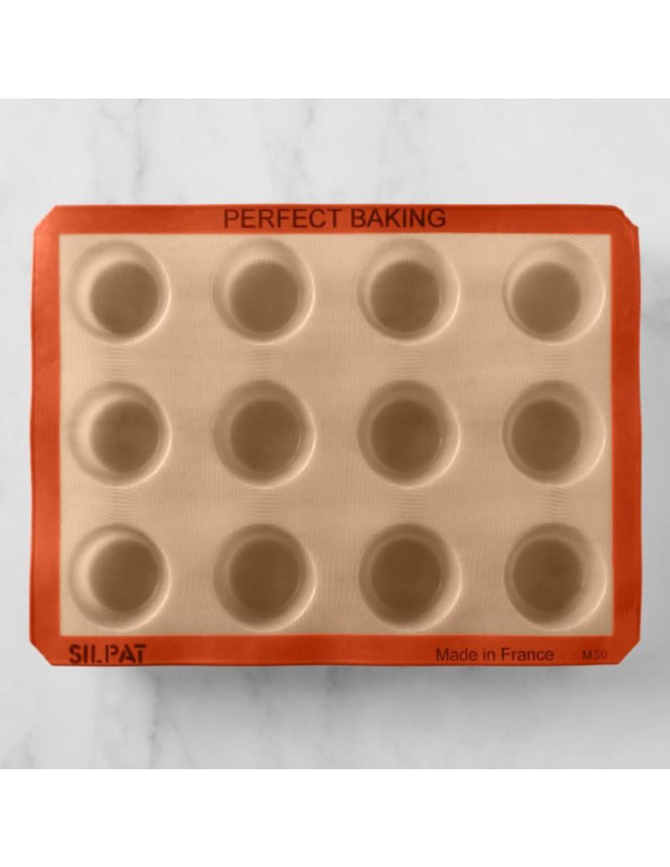 Molde para 12 Mini Muffins Silpat